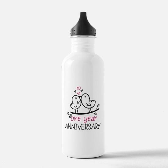 1st Anniversary Cute C Water Bottle
