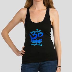 Namaste Symbol (Cool Blue Version) Racerback Tank