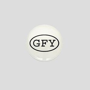 GFY Oval Mini Button