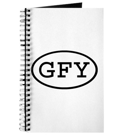 GFY Oval Journal