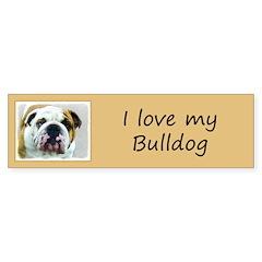 Bulldog Sticker (Bumper 10 pk)
