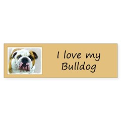 Bulldog Sticker (Bumper 50 pk)