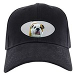 Bulldog Black Cap with Patch