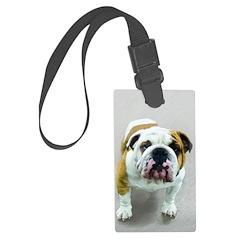 Bulldog Luggage Tag