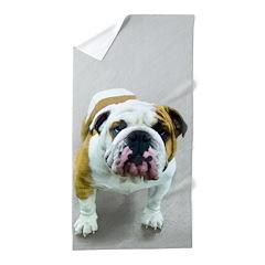 Bulldog Beach Towel