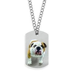 Bulldog Dog Tags