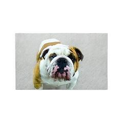 Bulldog Area Rug