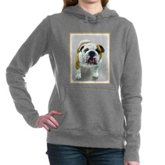 Bulldog Women's Hooded Sweatshirt
