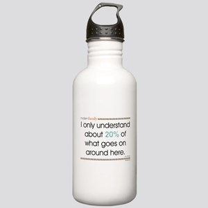 Modern Family Jay Unde Stainless Water Bottle 1.0L