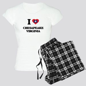 I love Chesapeake Virginia Women's Light Pajamas
