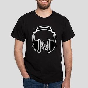 Headphone Dark T-Shirt