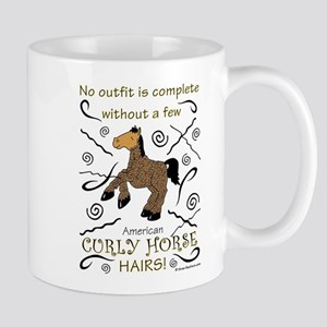 Curly Hairs Outfit Mugs