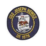USS JOSEPH HEWES Button