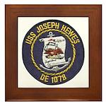 USS JOSEPH HEWES Framed Tile