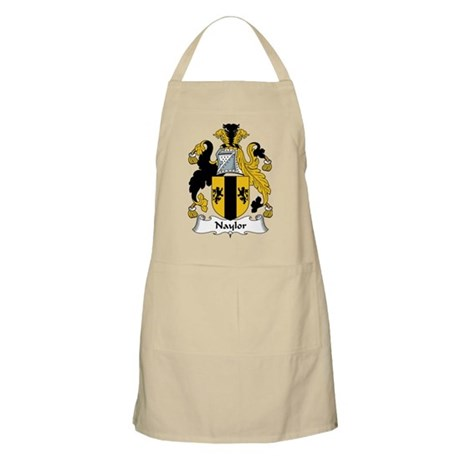 Naylor Family Crest BBQ Apron