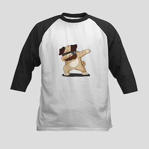 Dabbing Pug Baseball Jersey