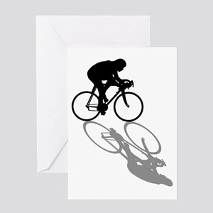 Cycling Bike Greeting Cards
