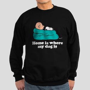Charlie Brown: Home is Where My Sweatshirt (dark)