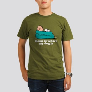 Charlie Brown: Home i Organic Men's T-Shirt (dark)