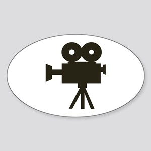 Videocamera Oval Sticker