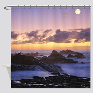 Seascape in Azores Shower Curtain