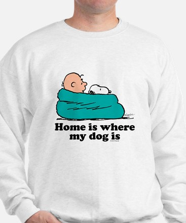 Charlie Brown: Home is Where My Dog Is Sweater