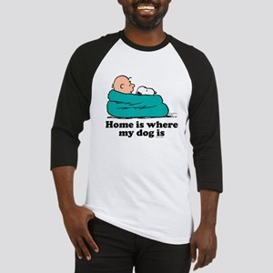 Charlie Brown: Home is Where My Do Baseball Jersey
