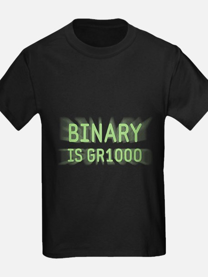Binary is Great (GR8) T