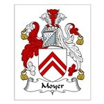 Moyer Family Crest Small Poster