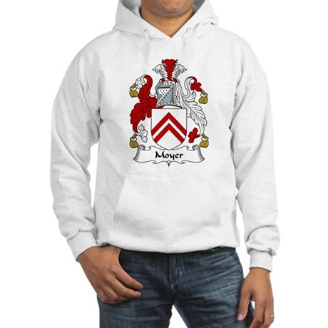 Moyer Family Crest Hooded Sweatshirt