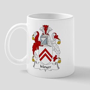 Moyer Family Crest Mug