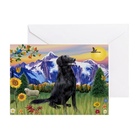 FCR in Mountain Country Greeting Card