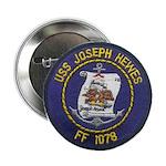 "USS JOSEPH HEWES 2.25"" Button"