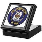 USS JOSEPH HEWES Keepsake Box