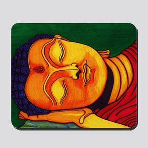 Resting his eyes Mousepad