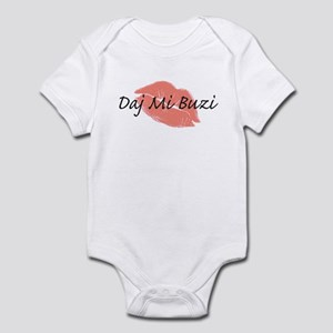 Polish-Kiss Me/Give Me A Kiss Infant Bodysuit