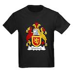 Mortlock Family Crest Kids Dark T-Shirt