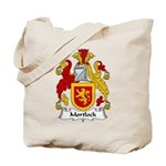 Mortlock Family Crest Tote Bag