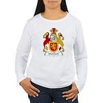 Mortlock Family Crest  Women's Long Sleeve T-Shirt