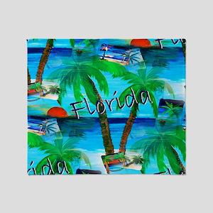 Florida Fun Throw Blanket