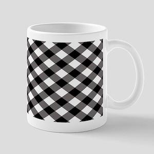 Black Plaid Mugs