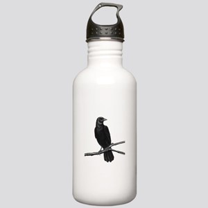 Black Crow ~ Stainless Water Bottle 1.0l