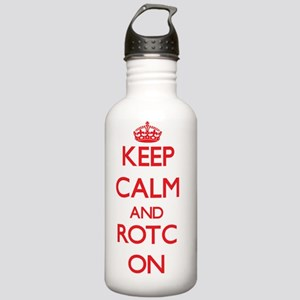 Keep Calm and Rotc ON Stainless Water Bottle 1.0L