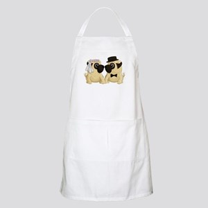 Wedding Pugs Apron