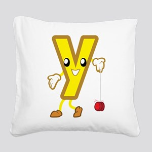 Y Square Canvas Pillow