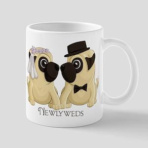 Newlywed Pugs Mugs