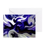 Blue Iris Home Decor Greeting Cards (Pk of 20)