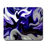Blue Iris Home Decor Mousepad