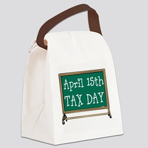 April 15 Tax Day Canvas Lunch Bag