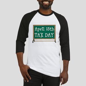 April 15 Tax Day Baseball Jersey